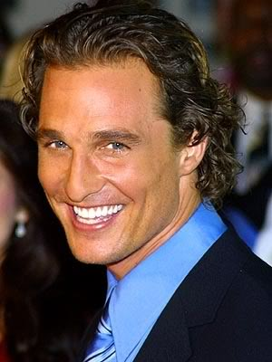 Happy Birthday Matthew McConaughey