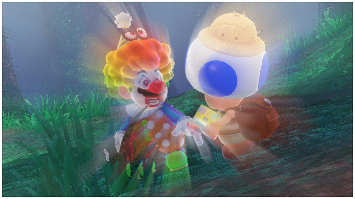 Burdur's Cameo in Super Mario Odyssey is Crazy pan-ic DNxTDTdVoAAalDz