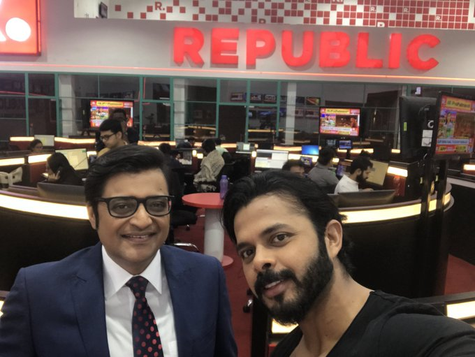 @republic @republic thanks a lot ..had a great interview with sir Arnab Goswami ..met him after 10 years..to the point nd straight forward 👍🏻🇮🇳🤗✌🏻 https://t.co/WDinQBnRJG
