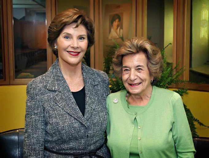 Happy Birthday Laura Bush from the Sichko\s - Thanks for being such an example for so many!