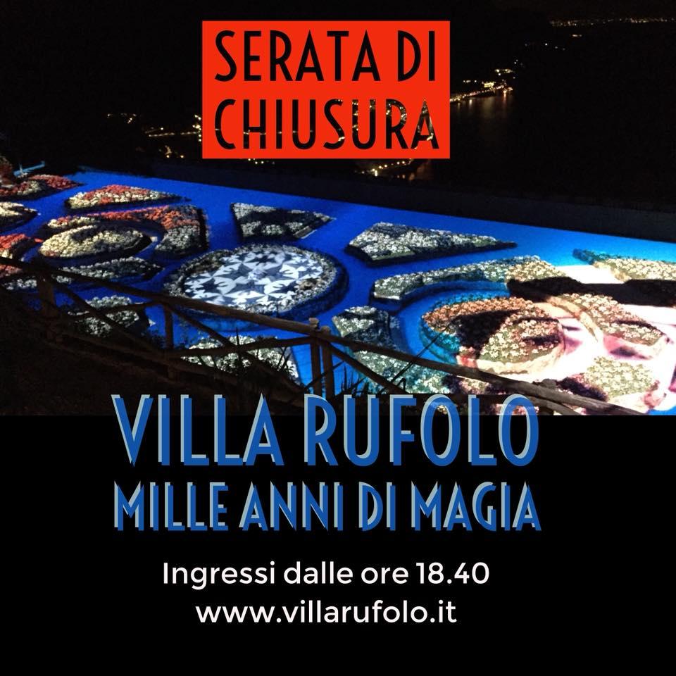 La magia, ancora per una sera! #villaruf...