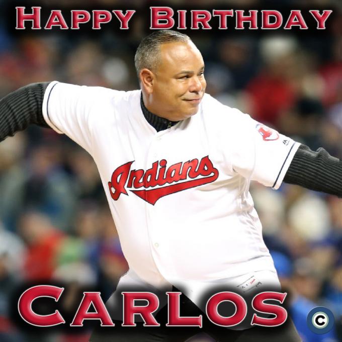 To wish former Indians star Carlos Baerga a happy 49th birthday! Photo: Chuck Crow, The Plain Dealer.