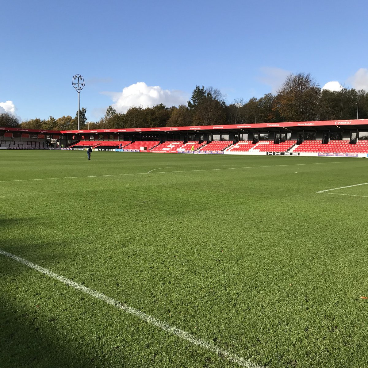 """Salford City: Salford City FC On Twitter: """"Excellent Job By Groundsman"""