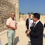 【日本のバーレン支援は遺跡の発掘調査もあります】西藤先生は日本学術会議振興会のプロジェクトで、遺跡の…