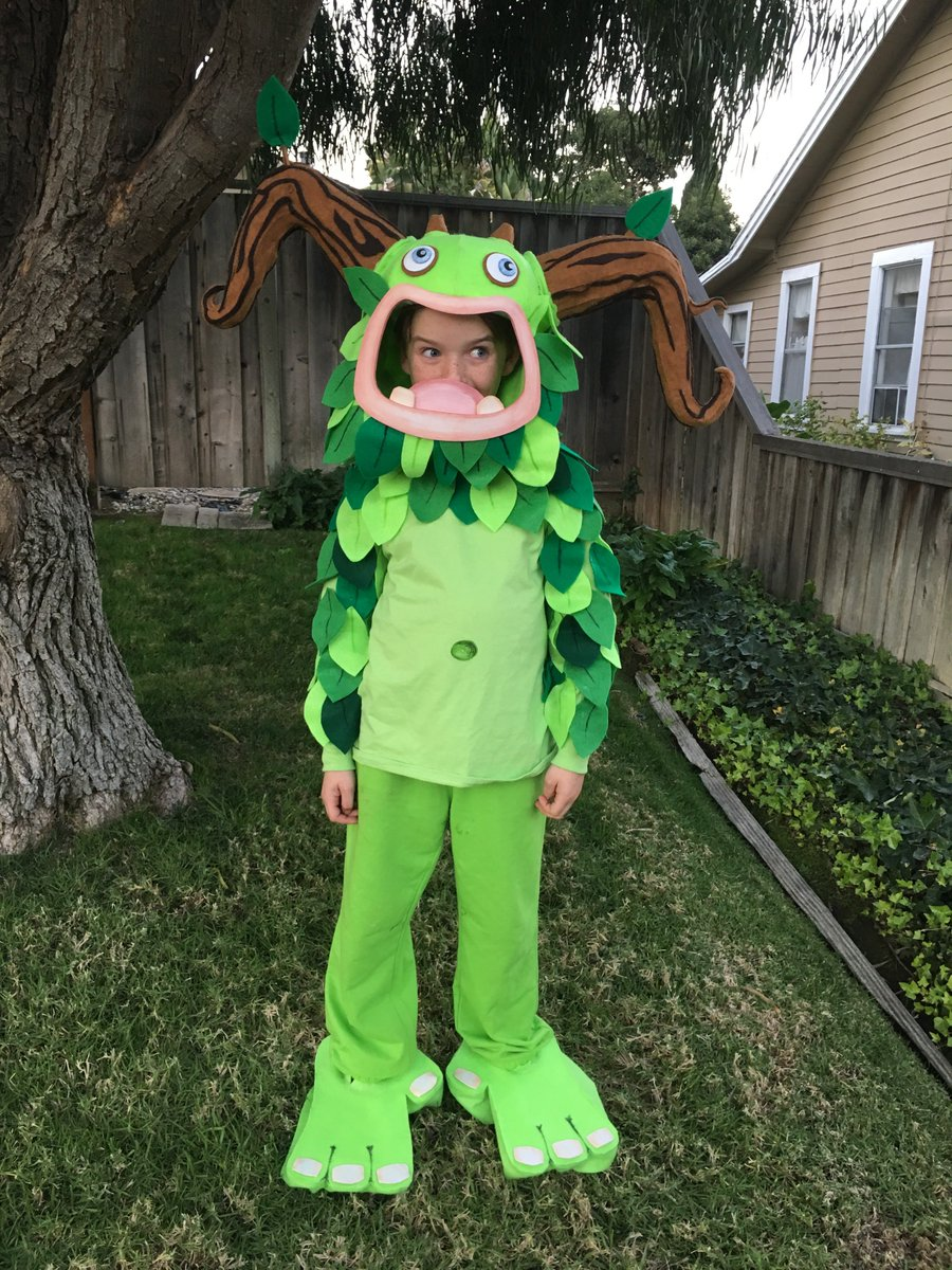 Leigh Henderson On Twitter Singingmonsters Bigbluebubble My Nephew And I Made This Great Entbrat Halloween Costume His My Singing Monsters Display Name Is Benney Https T Co Ioupqs1anj