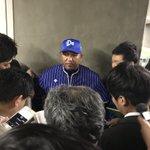 #横浜DeNAベイスターズラミレス監督のコメント「選手には素晴らしい1年だった。負けはしましたが、い…