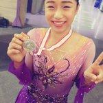 西日本Jr女子❄️見事2位表彰台の山下真瑚選手(中3)🥈ノーミスの演技で自己ベストを更新‼️本人も「…