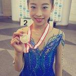 西日本Jr女子❄️3位の滝野莉子選手(高1)✨冒頭の3Aは決まらなかったものの、その後の演技をまとめ…