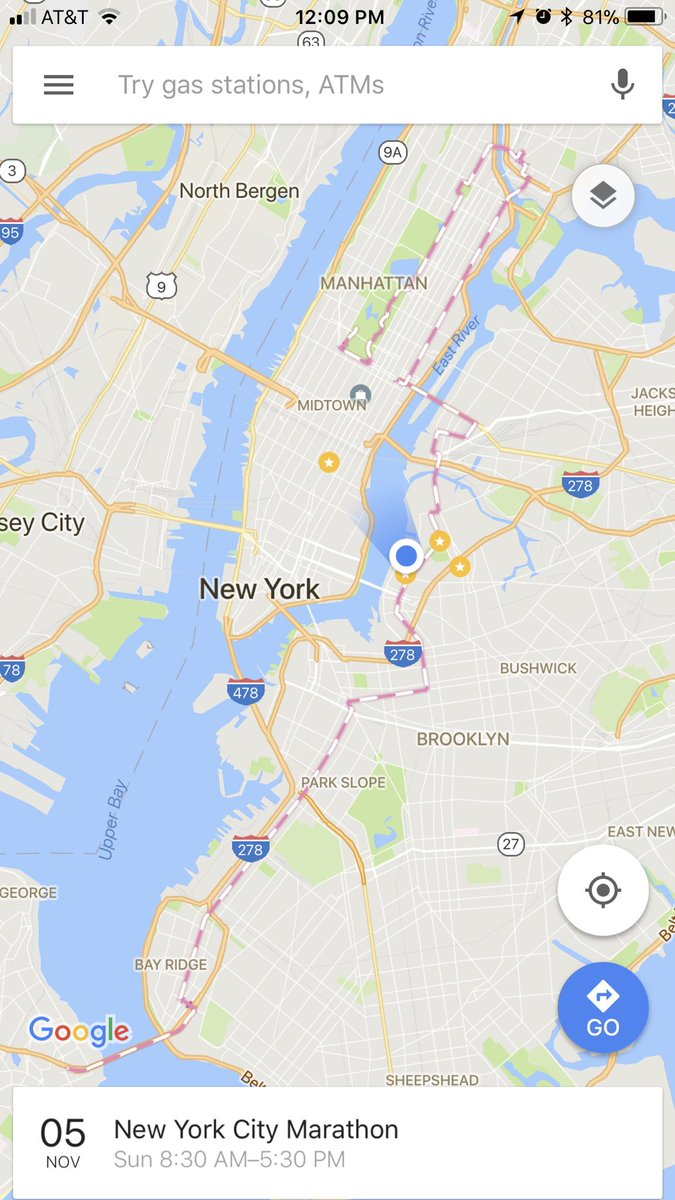 Map Of New York Marathon 2017.Alexander Rea On Twitter Driving In Nyc Tomorrow Use Google Maps