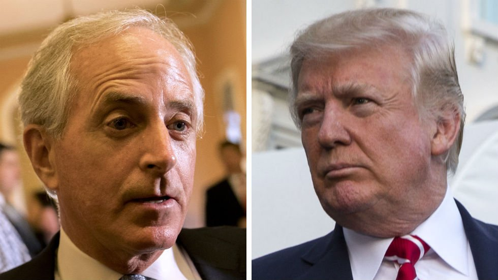 Corker torches Trump: 'Totally inappropriate' to call for investigation into Clinton https://t.co/ByCgJTYajs https://t.co/Yz0miDP6bV