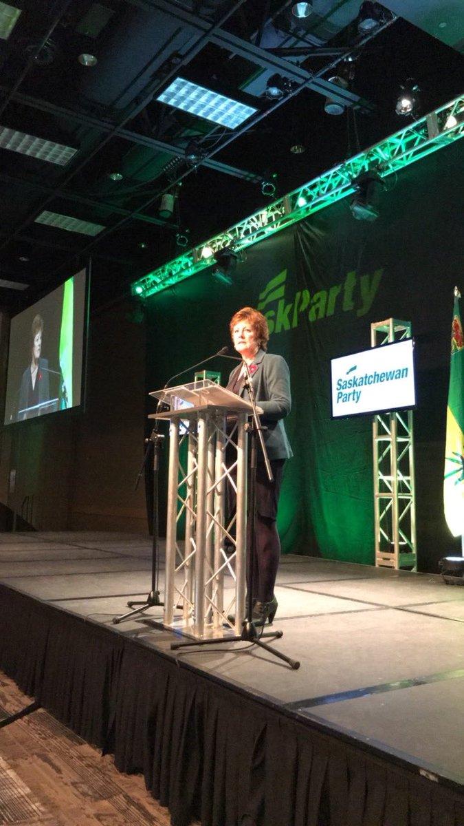 Now #skpldr candidates up speaking. First up, @alannaforleader #spconvention17