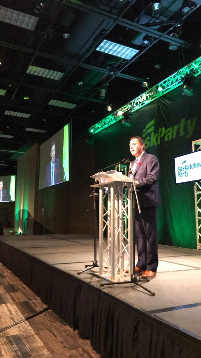 And @GordWyant is the last #skpldr to hit the stage to address #spconvention17 delegates.