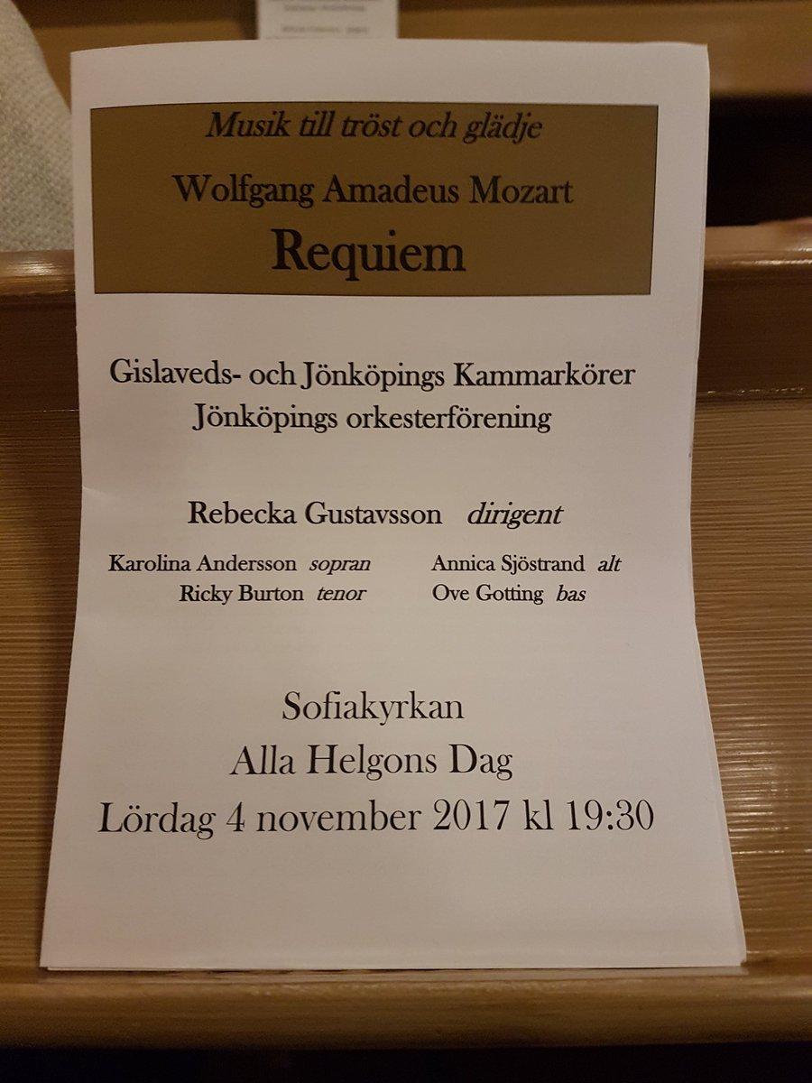 Konsert i #sofiakyrkan 19:30