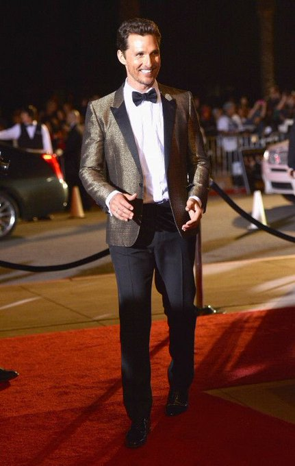Happy Birthday to Matthew McConaughey seen here on the red carpet at