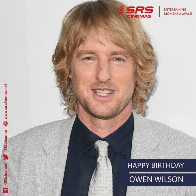 Happy Birthday, Owen Wilson!
