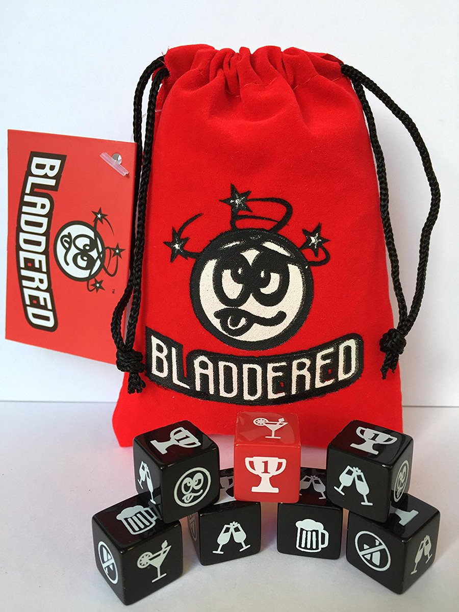 RT @tweetmasterone: #InternationalMensDay *** Now In Stock *** Bladdered, the new #DrinkingGame By @AbsoluteDice Are you #Game ? #Party  Buy it right in here  https://www. amazon.co.uk/ABSOLUTE-DICE- Bladdered/dp/B0776TN7JS/ref=sr_1_4?ie=UTF8&amp;qid=1510837522&amp;sr=8-4&amp;keywords=bladdered&amp;dpID=51f1ZHa7uwL&amp;preST=_SY300 &nbsp; …  #christmasparty #partytime #christmas #gifts #gift<br>http://pic.twitter.com/9uearXlAA8