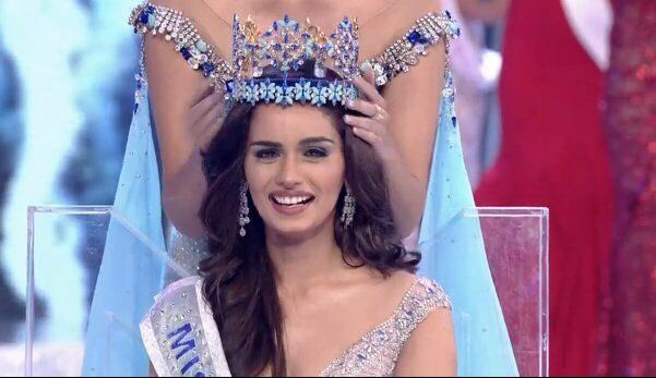 Hearty congratulations to @ManushiChhillar on being crowned the #MissWorld2017 and making us all proud. Good to know you aspire to be a doctor as well 👍