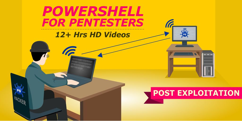 Always wanted to be a #Post-Exploitation Ninja? Powershell for Pentesters: 12 hrs HD videos!  http:// bit.ly/1XY5NRX  &nbsp;   <br>http://pic.twitter.com/4A57kUWfkF