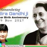RT @HaroonYusufINC: #Indira100 @ghulamnazad @RajBa...