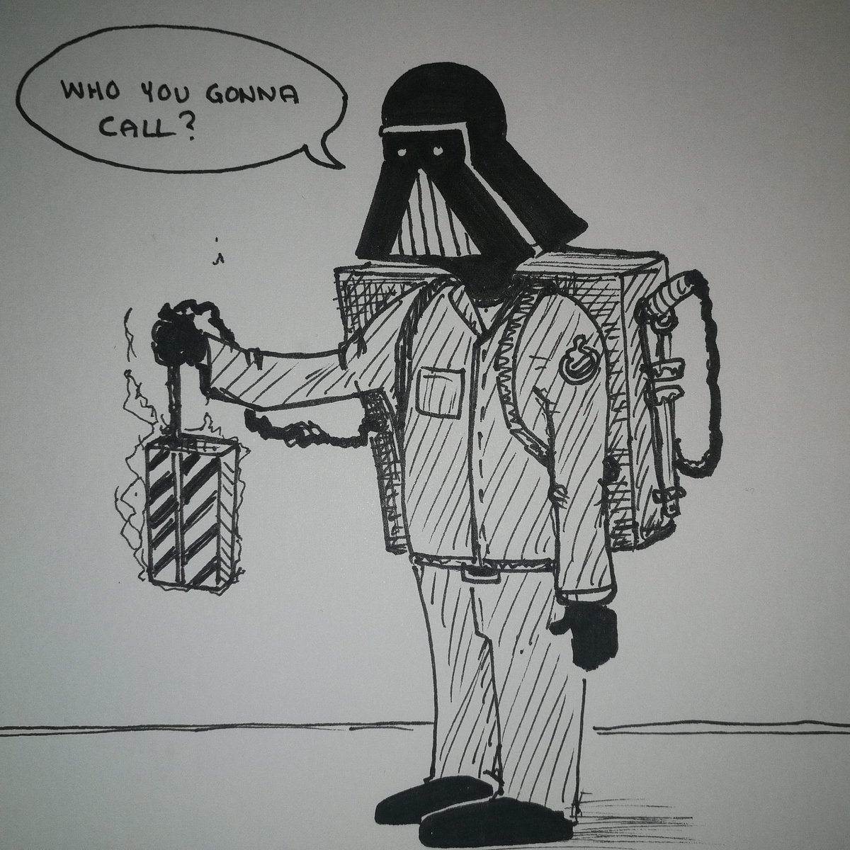 If you have problems with Jedi ghosts, #DarthVader #TheFarDarkSide #StarWars <br>http://pic.twitter.com/zon4runVCB