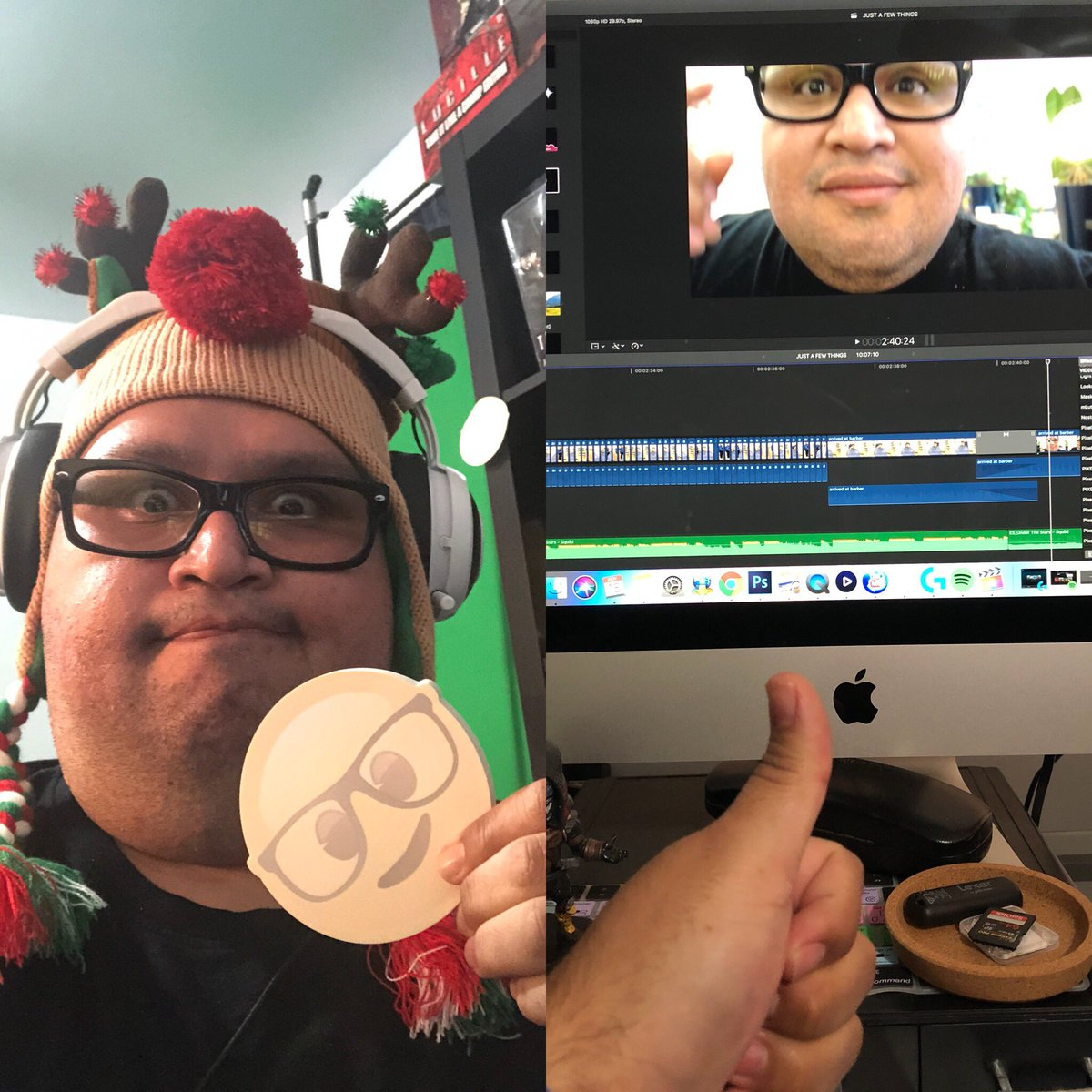 Editing on a Saturday night.  #edits #editingfun #editingvideo #filmmaking #filmmaker #satisfyingvideos #editinglife  #saturday #saturdaynight #christmastime #partytime #stayingwarm #vlog #vlogger #youtuber #sleepy #whynot<br>http://pic.twitter.com/cgE8Qqp4FR