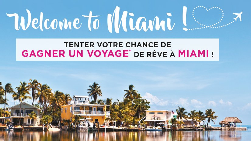 #Concours:  Qui veut gagner un voyage à Miami?       #Jeux #RT + follow @gainspourtous   http:// gainspourtous.com/gagnez-1-sejou r-pour-2-personnes-a-miami/  … pic.twitter.com/iTMuOYqnwT