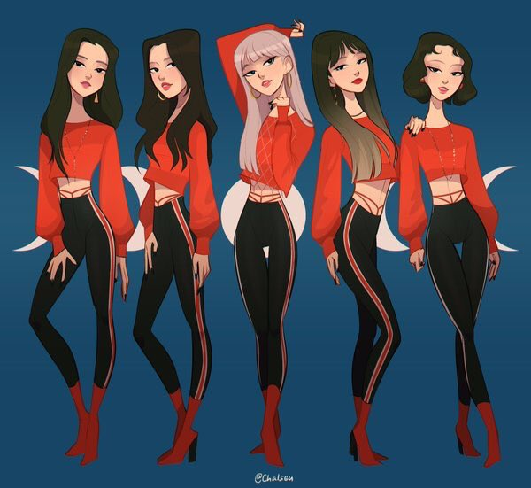 IM WELL AND TRULY SLAYED BY THIS AMAZING #EXID ART @Chalseu_D  LOOK AT THEM  #Hani #jeonghwa #solji #LE #hyelin are my QUEENS<br>http://pic.twitter.com/tMobMEaTpa