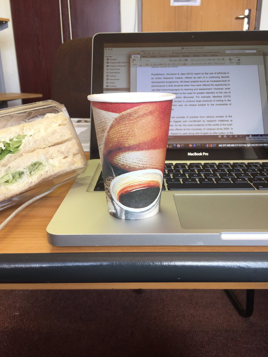 The aroma of freshly baked cuppaccino! Pushing through the #thesis  <br>http://pic.twitter.com/nAmvfpYMQf