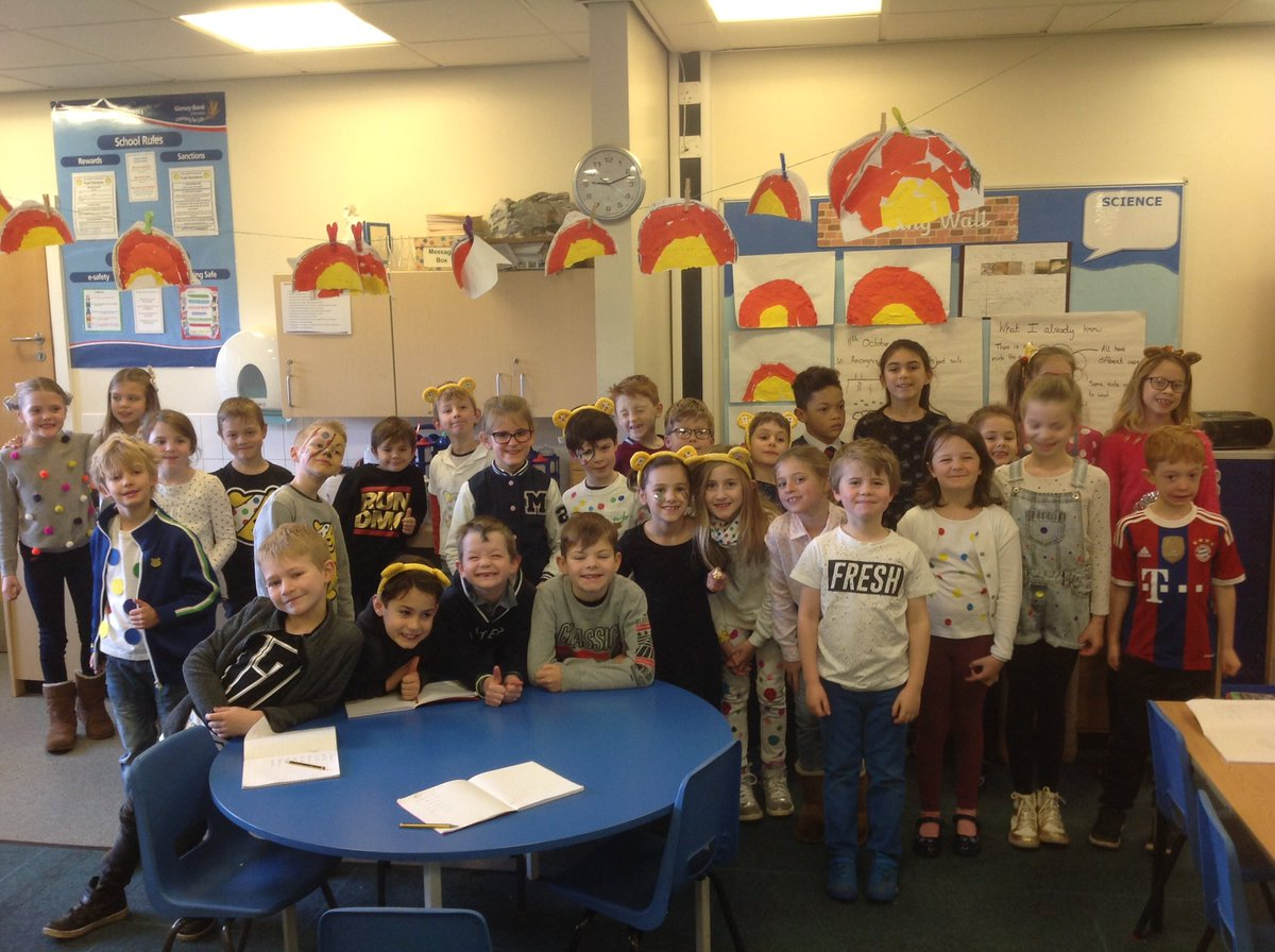 test Twitter Media - Year 3 ready for Children In Need! Thank you so very much for all your donations and your efforts towards the spotty theme #CIN2017 https://t.co/eICue9BoXn