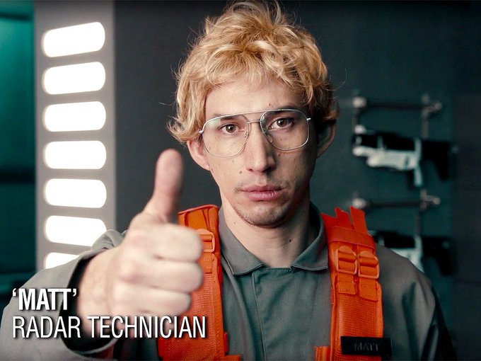 Happy Birthday Adam Driver, 34! You have to have a sense of humour about yourself.
