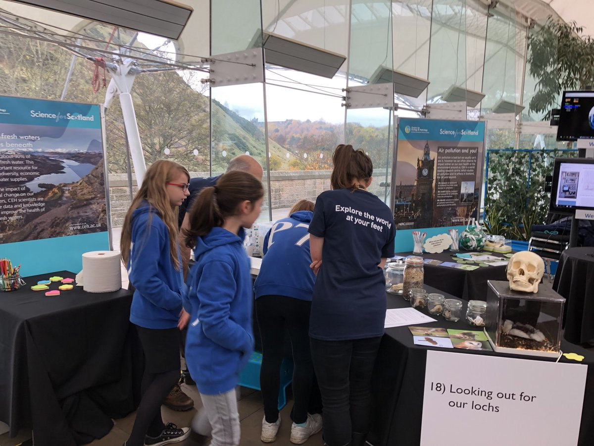 Great to see students getting involved and learning about @CEHseabirds at @NERCscience #UnEarthed learning about #CEHLakes @CEHseabirds and @CEH_AirQuality #PublicEngagement <br>http://pic.twitter.com/OAp39glUkv