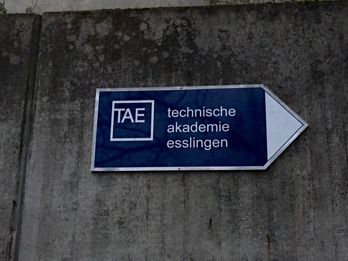 LÜTZE heute als #Socialmedia #bestpractice an der Technischen Akademie...