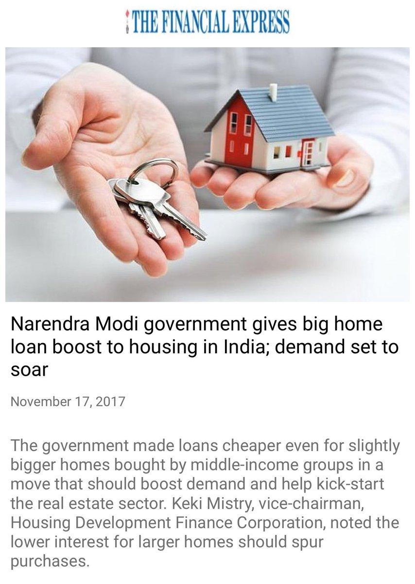 Modi government gives big home loan boost to housing in India; demand set to soar https://t.co/KKlEIWf6Ev  via NMApp https://t.co/2JiQDgDiNM
