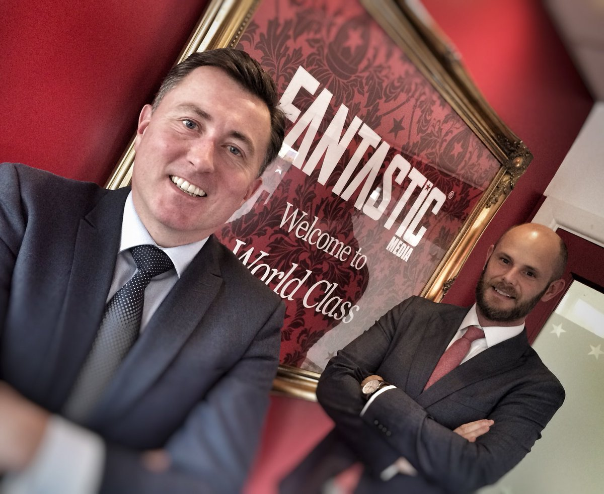 Looking forward to welcoming new partner @bulmerandlumb to the @fantasticmedia #insight experience this morning. <br>http://pic.twitter.com/lLCGyuptRy