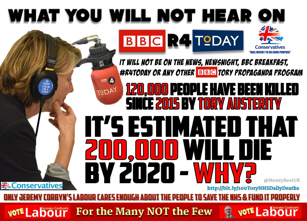 #r4today THE 𝐁𝐁𝐂 HAVE BECOME LITTLE MORE THAN CONSERVATIVE CENTRAL OFFICE&#39;S PROPAGANDA STATION #SAD <br>http://pic.twitter.com/JJW2M1NGfn