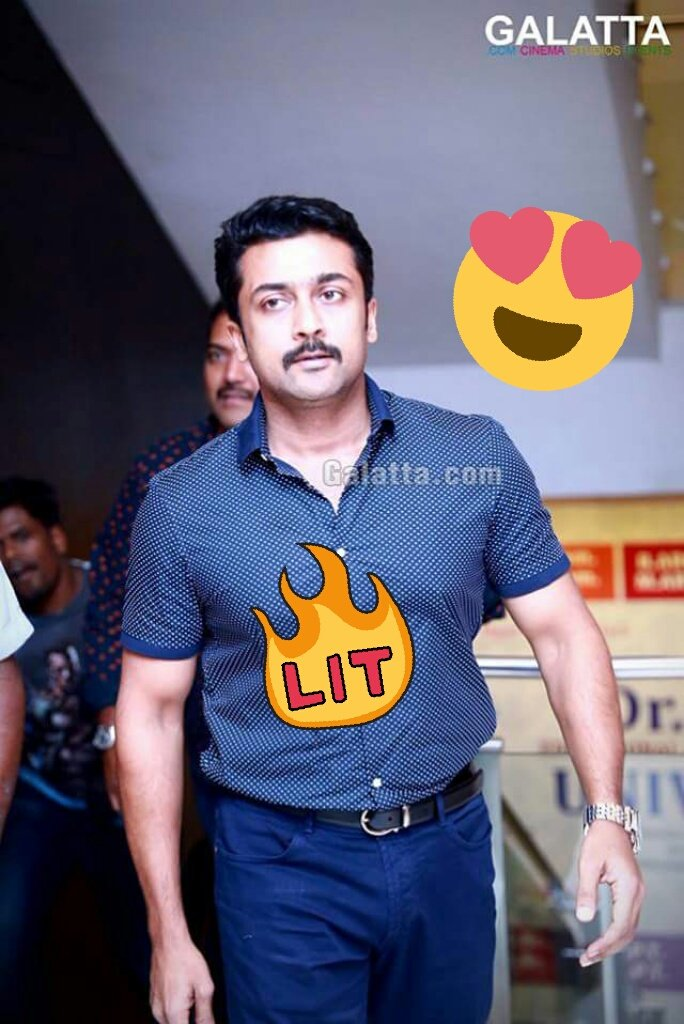 Awww  This man Never getz Aged   @Suriya_offl #Age on #ReverseGear   Recent pic Clicked   @rajsekarpandian<br>http://pic.twitter.com/S9UulOu7fJ