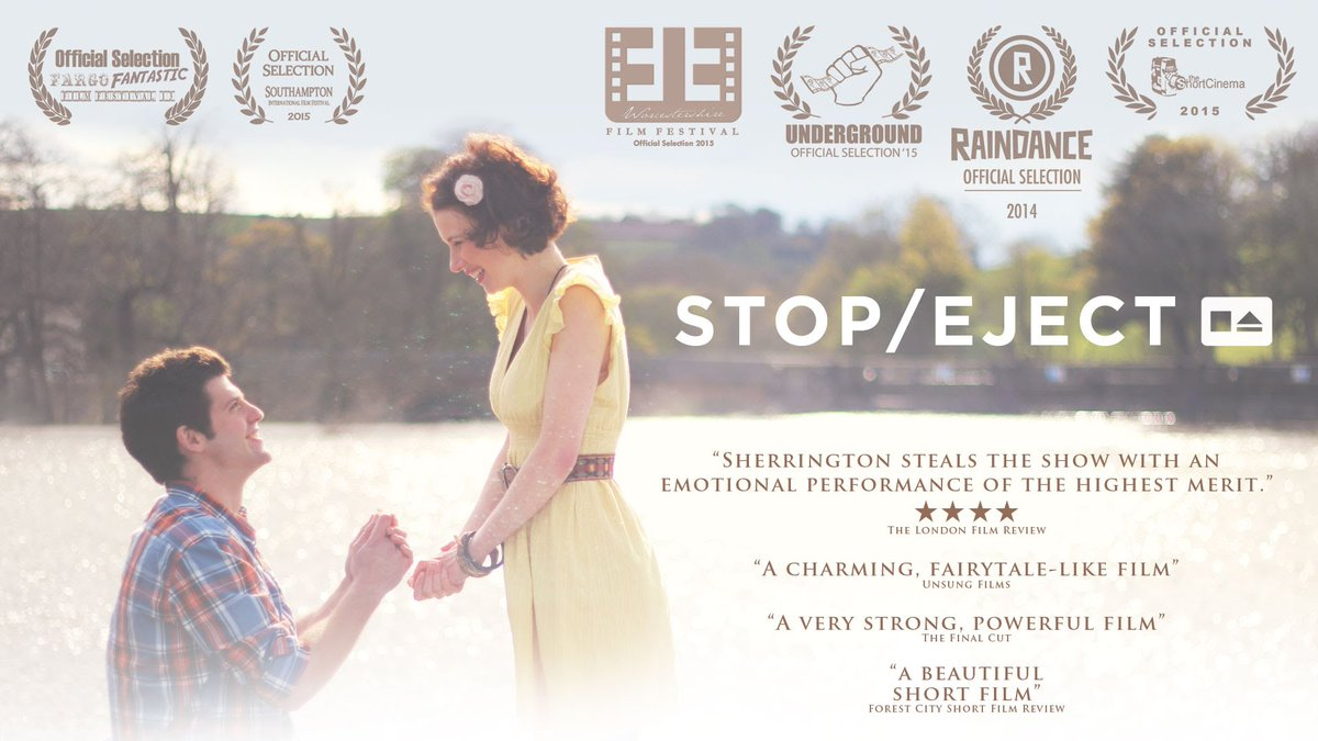 #Throwback to one of the final posters for the award-winning #StopEject (dir. @neiloseman ) which we produced with Jigawatt Pictures.  The film was released online in November 2015, but it was set in Autumn/Winter 2011.  https:// youtu.be/KOT1yj53u_U  &nbsp;  <br>http://pic.twitter.com/7QaORAVb2i