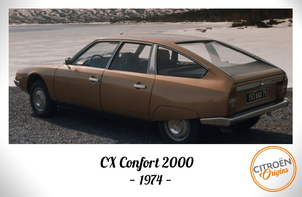 Embodying French luxury in 1974 with #CX confort 2000 model in a polaroid vintage style   http:// bit.ly/CitroenOrigins  &nbsp;   #CitroënOrigins<br>http://pic.twitter.com/3uZtwY6kX3