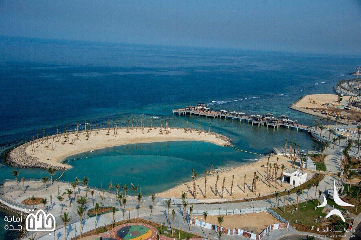 صور من #واجهة_جدة_البحرية الجديدة JW ، و...
