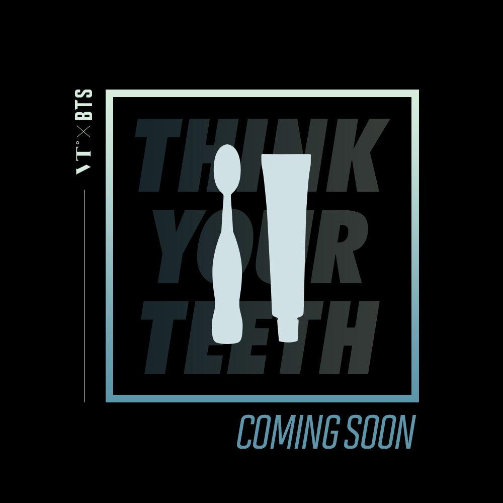 Upcoming #VTXBTS  브이티와 방탄소년단의 새로운 아이템이 곧...