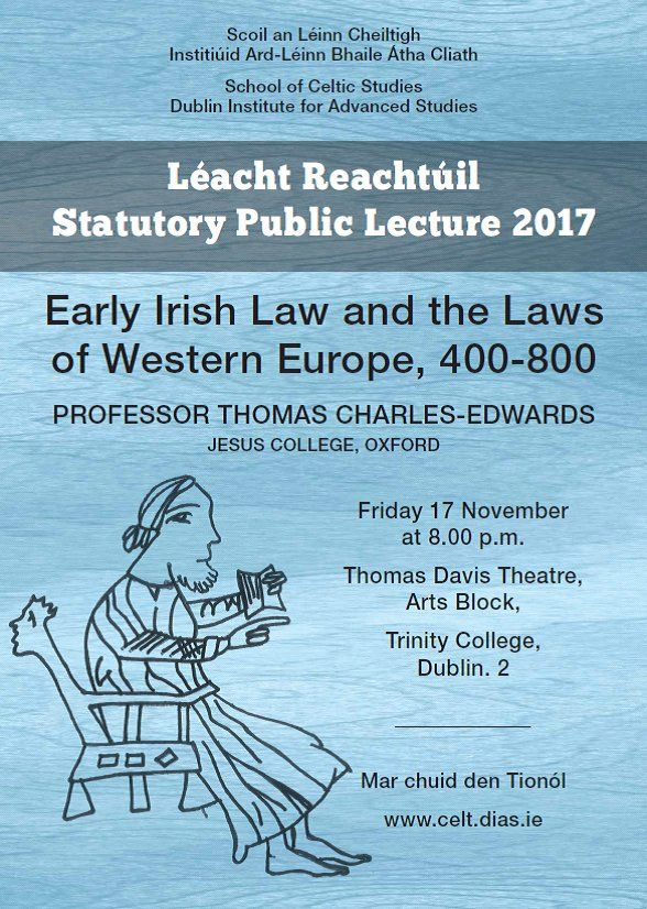 test Twitter Media - #DIASDublin School of Celtic Studies Statutory Public Lecture 2017 17th November @ 8pm at Trinity College Dublin https://t.co/OCMYVodId8