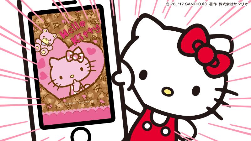 サンリオアニメモバイル 公式 on twitter 今日の壁紙 キティ