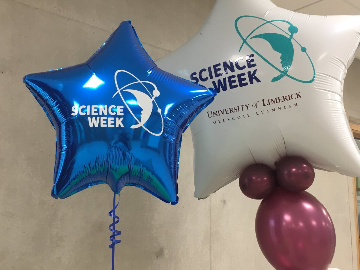 Ready to welcome more schools today @ul @LimkFestival #ScienceWeek2017 #StopAndAsk #StudyAtUL @scienceirel @ScienceWeek<br>http://pic.twitter.com/ksVpz36fTP