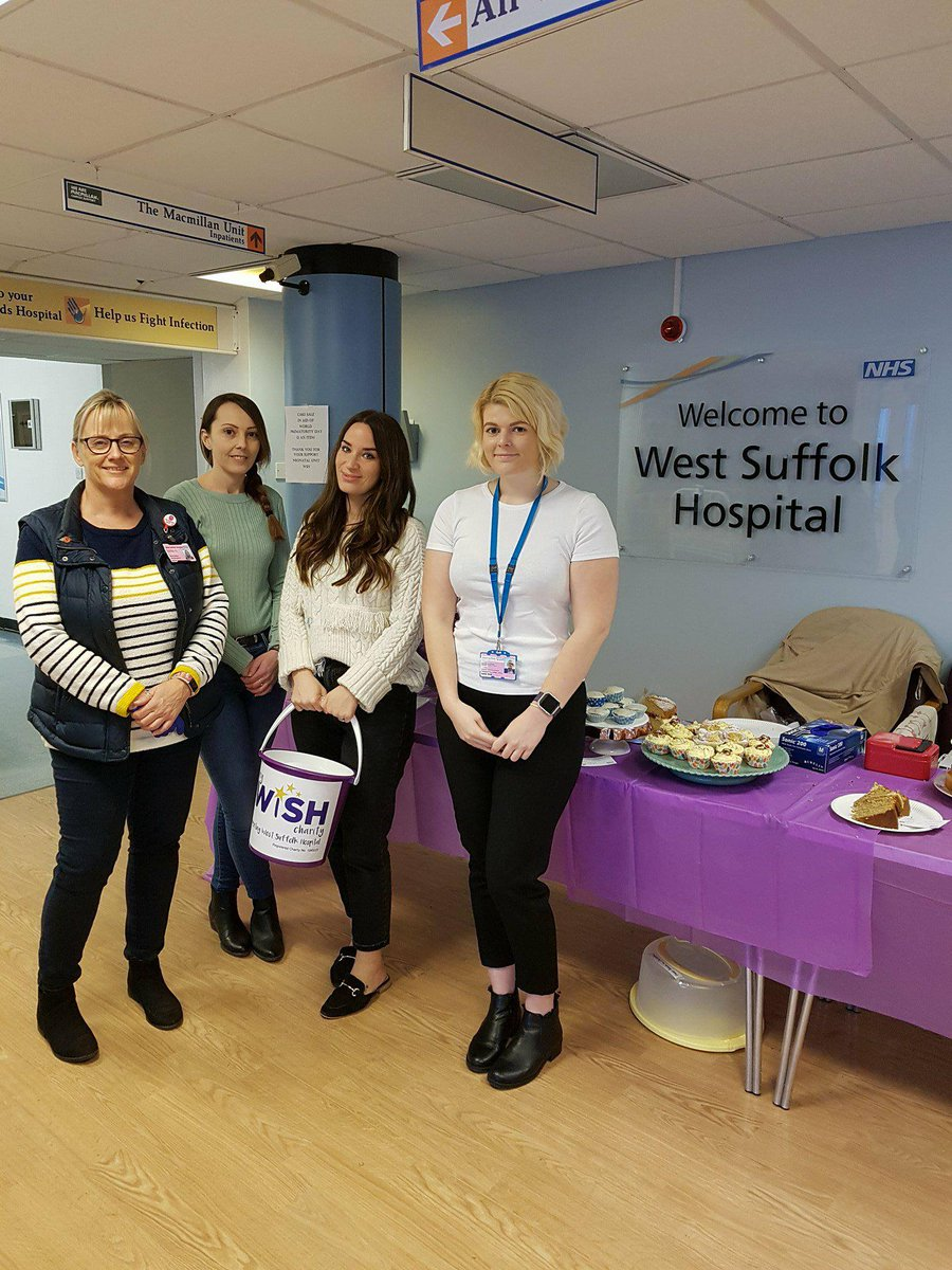 Great work from the @WestSuffolkNHS neonatal team, raising money for premature babies #charity #neonatal #prembaby #support #cakesale<br>http://pic.twitter.com/IMxmeonuKx