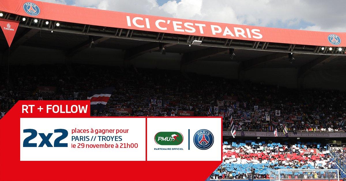 Envie d'aller soutenir le @PSG_inside pour le match #PSGESTAC ? 😁😍 👉RT + Follow pour participer ! ⏱️TAS lundi