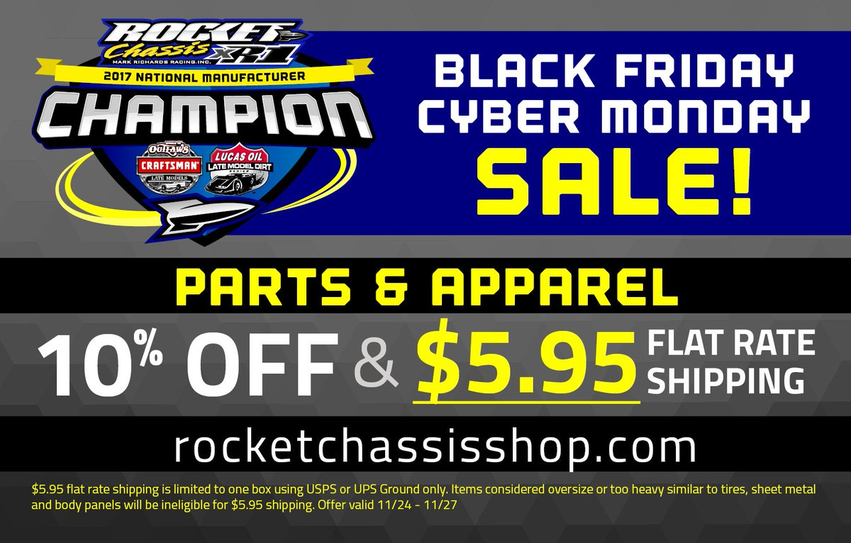 #GiveawayAlert - Want a #FREE @Rocket_Chassis hat &amp; t-shirt? RT this for a chance to win! We&#39;ll pick the winner on November 28th.    http:// rocketchassisshop.com  &nbsp;  <br>http://pic.twitter.com/rDFnRc4U13