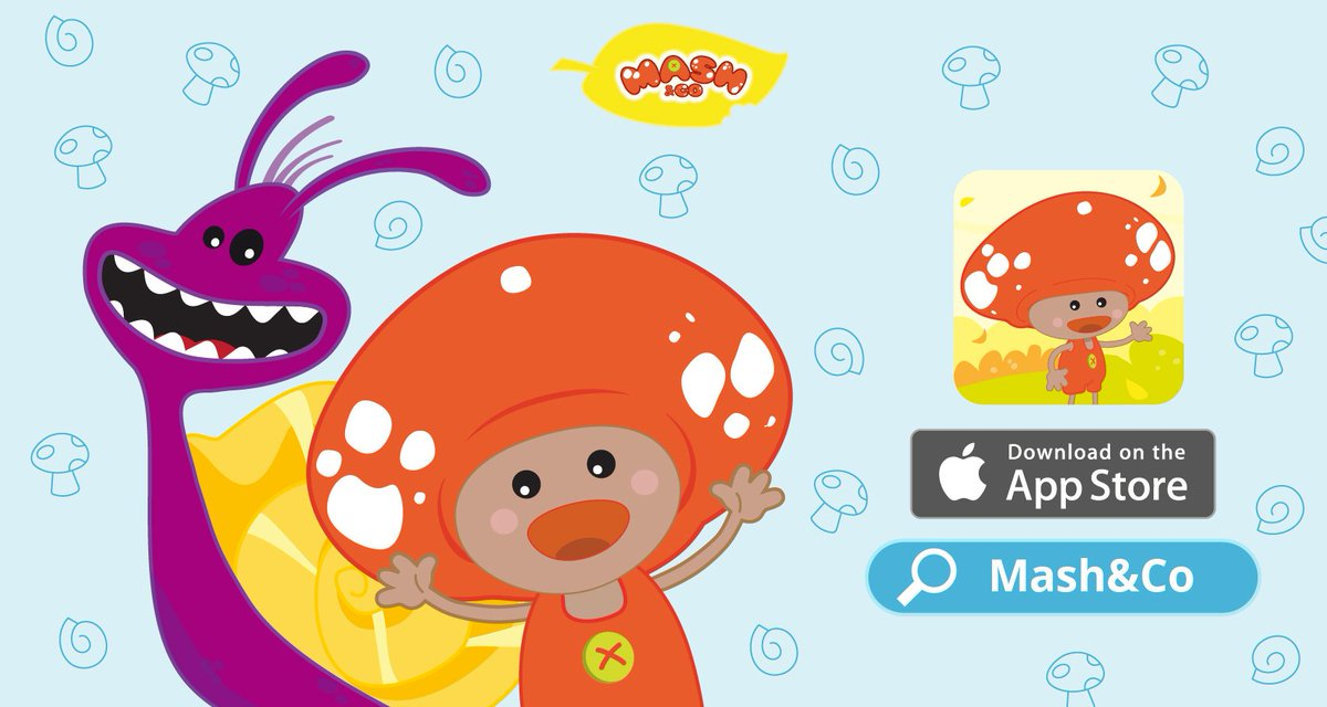 Get Mash&amp;Co now on the #Appstore!  http:// jo.my/mashios  &nbsp;   40% off for 7 #cartoons, #minigames, and #InteractiveCartoons! #weekendgoals #weekend #family #kids #parents #mothers #moms #dads #parents #children #kidsapp #edapps #funlearning<br>http://pic.twitter.com/iblCmoSmvT