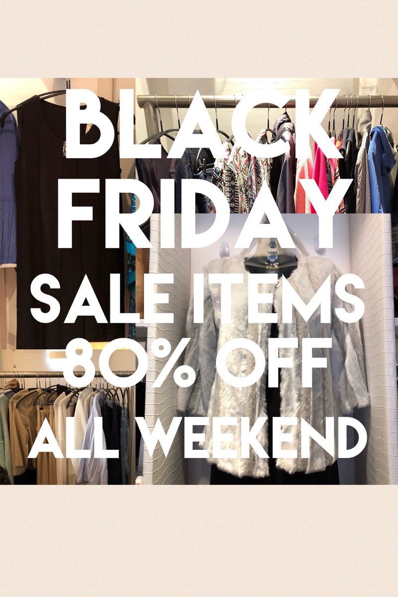 80% OFF Sale items all weekend. Don't miss out! #boutiquefashion #cardiffshopping #instafashion #pontcanna #cardiff #blackfriday<br>http://pic.twitter.com/d0wLaScXv6