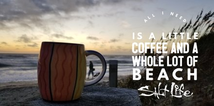 All I need is a little #coffee  and a whole lot of #beach   #SaltLife  #TGIF<br>http://pic.twitter.com/ccxsymKxpJ