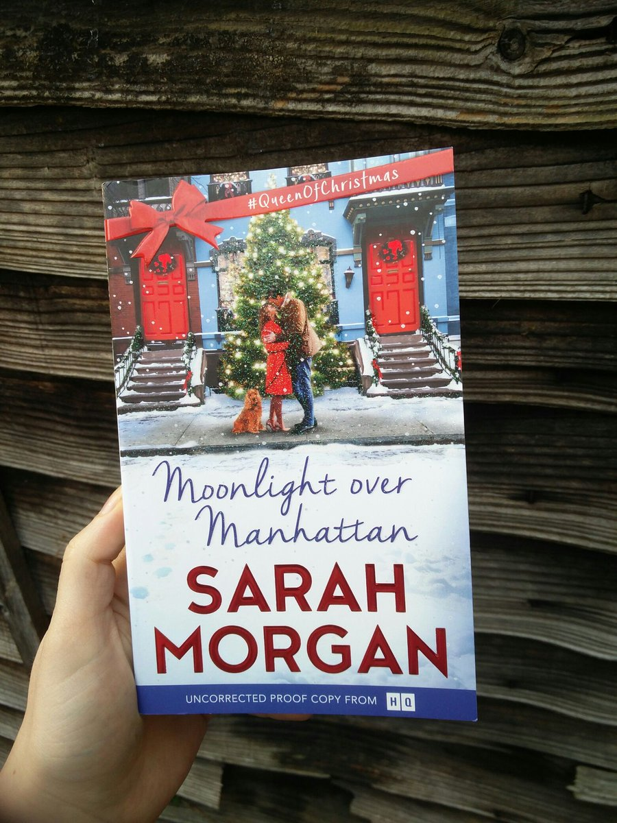 Thanks to @HQstories for this great Christmasy #bookpost . I bet there is great fun hidden in these pages  #QueenOfChristmas #bookstagram #bookpic #bookblogger #ilovebooks #booktoread #shinycover #MoonlightOverManhattan<br>http://pic.twitter.com/aBSYUO2uJo